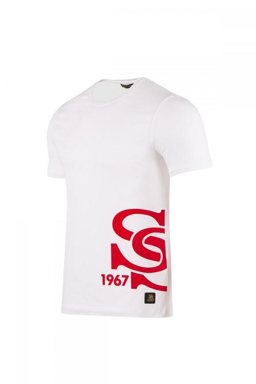 Bisiklet Yakalı Önü SS Sivasspor Baskılı T-shirt